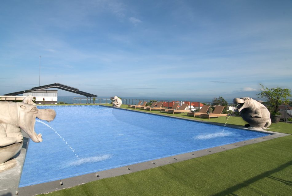 Rooftop Pool (North)